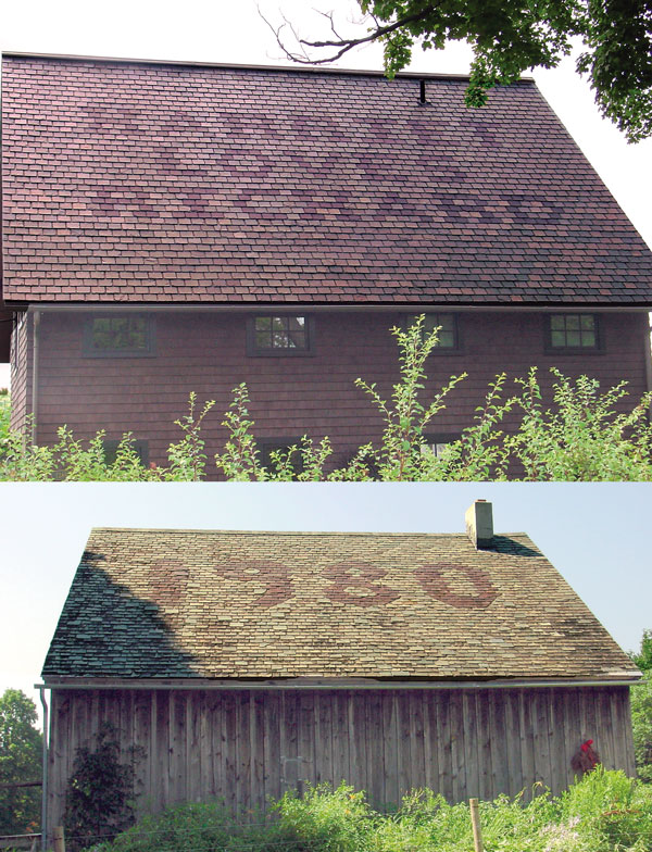 Slate Roof Inscriptions