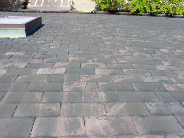 How To Identify Your Roof Slate - Monson slate roof.