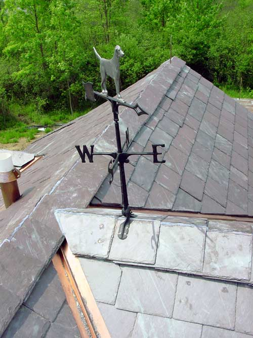 How To Install Slate Roof Hips And Ridges