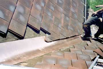 Slate Roof Central Photos Of Tile Roof Repair And