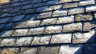 How To Identify Your Roof Slate - Pennsylvania  soft black slate roof.