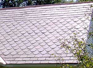 Slate Roof Central - Styles of Slate Roof Installations - mixed shapes slating style