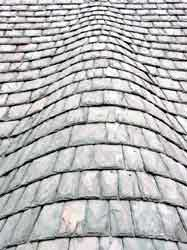 How To Identify Your Roof Slate - Vermont Slate, Unfading green roof.